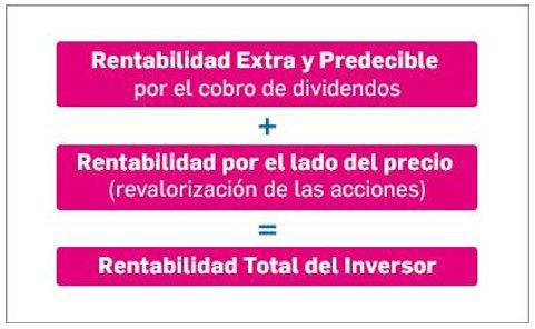 Compañías con rentabilidad por dividendo: rentabilidad total del inversor