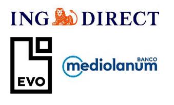 Comisión de los cajeros Evo Banco, Banco Mediolanum e ING Direct