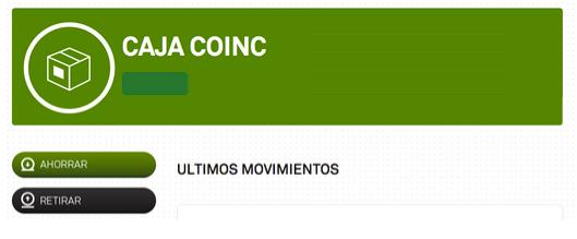 Caja Coinc