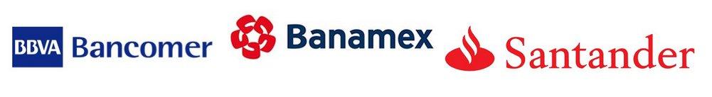 Comparativa Bancos: BBVA Bancomer, Santander y Banamex