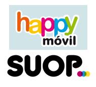 Tarifas móviles con menos de 1gB: happy móvil y suop