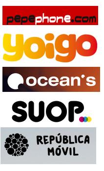 Tarifas entre 1 y 2 GB: pepephone, yoigo, ocean's mobile, suop