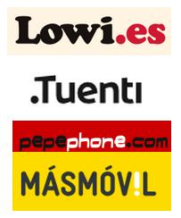 Tarifas móviles con 2 Gb: lowi, tueni, pepephone, másmóvil