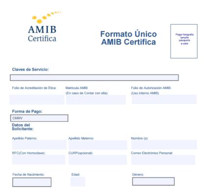 Asesor Financiero AMIB solicitud