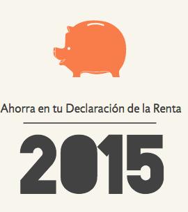 Ahorrar en la Declaración de la renta 2015