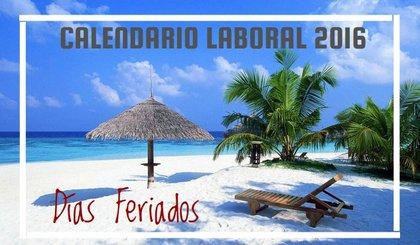 Calendario Laboral México y días feriados 2016