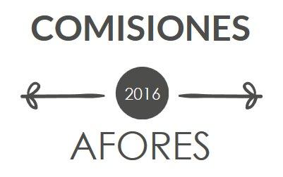 Comisiones de Afores en 2016