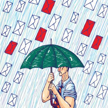 El correo no solicitado y que no aporta nada es spam foro
