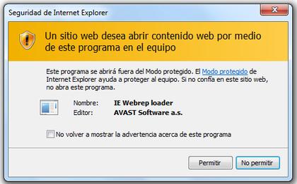 ie webrep loader que es