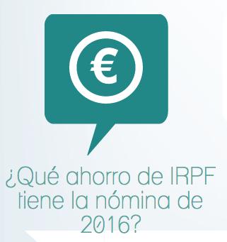IRPF nomina 2016