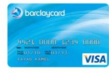 Visa barclaycard