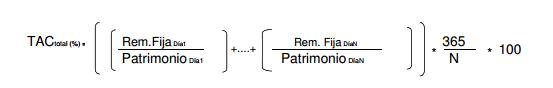 Formula TAC