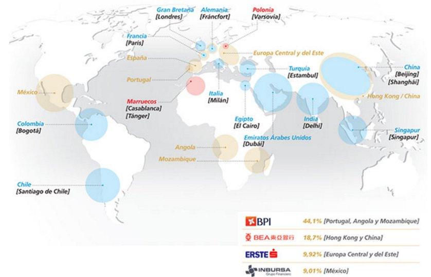 mapa caixabank