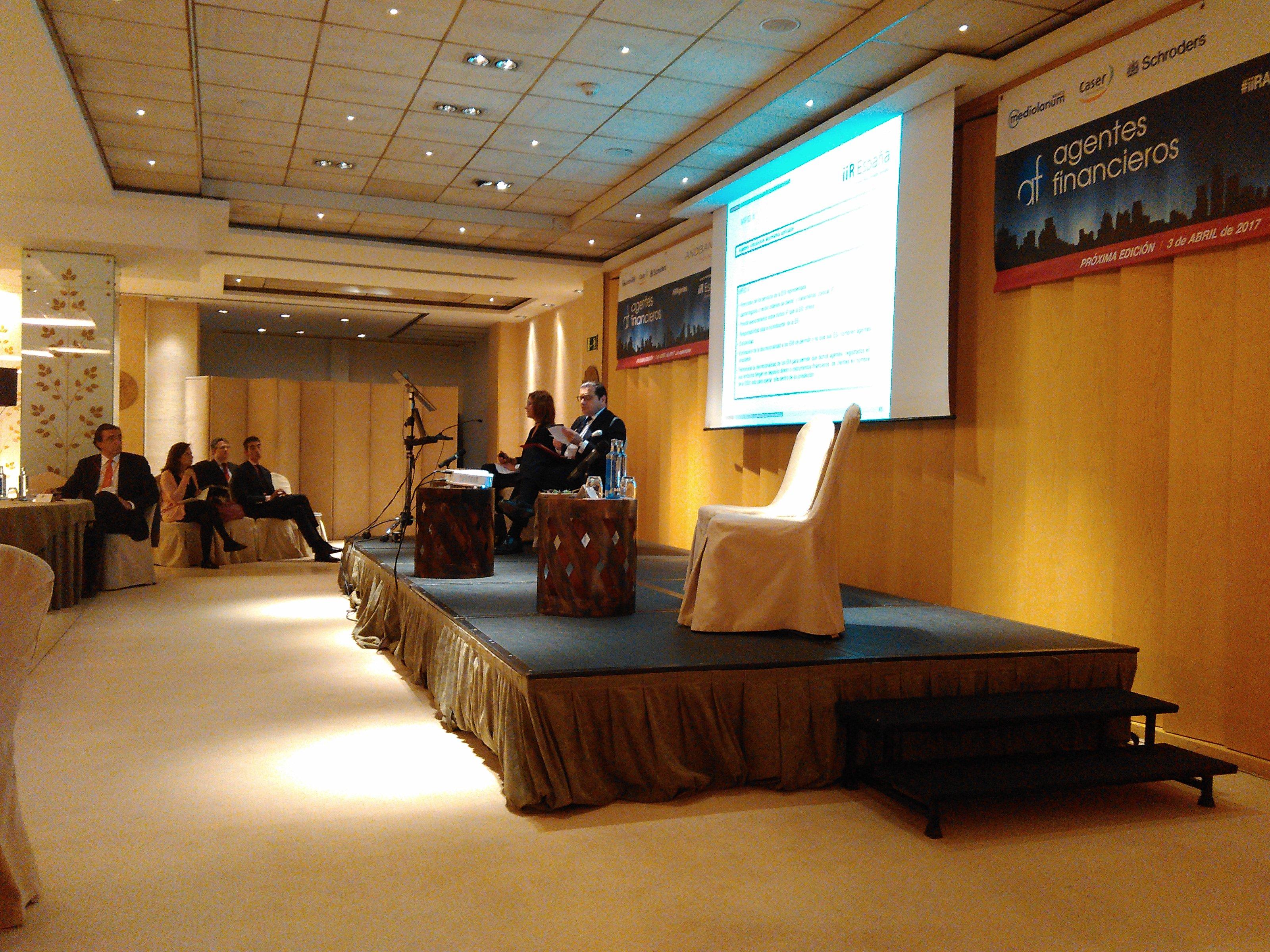 Encuentro con agentes financieros iiR España