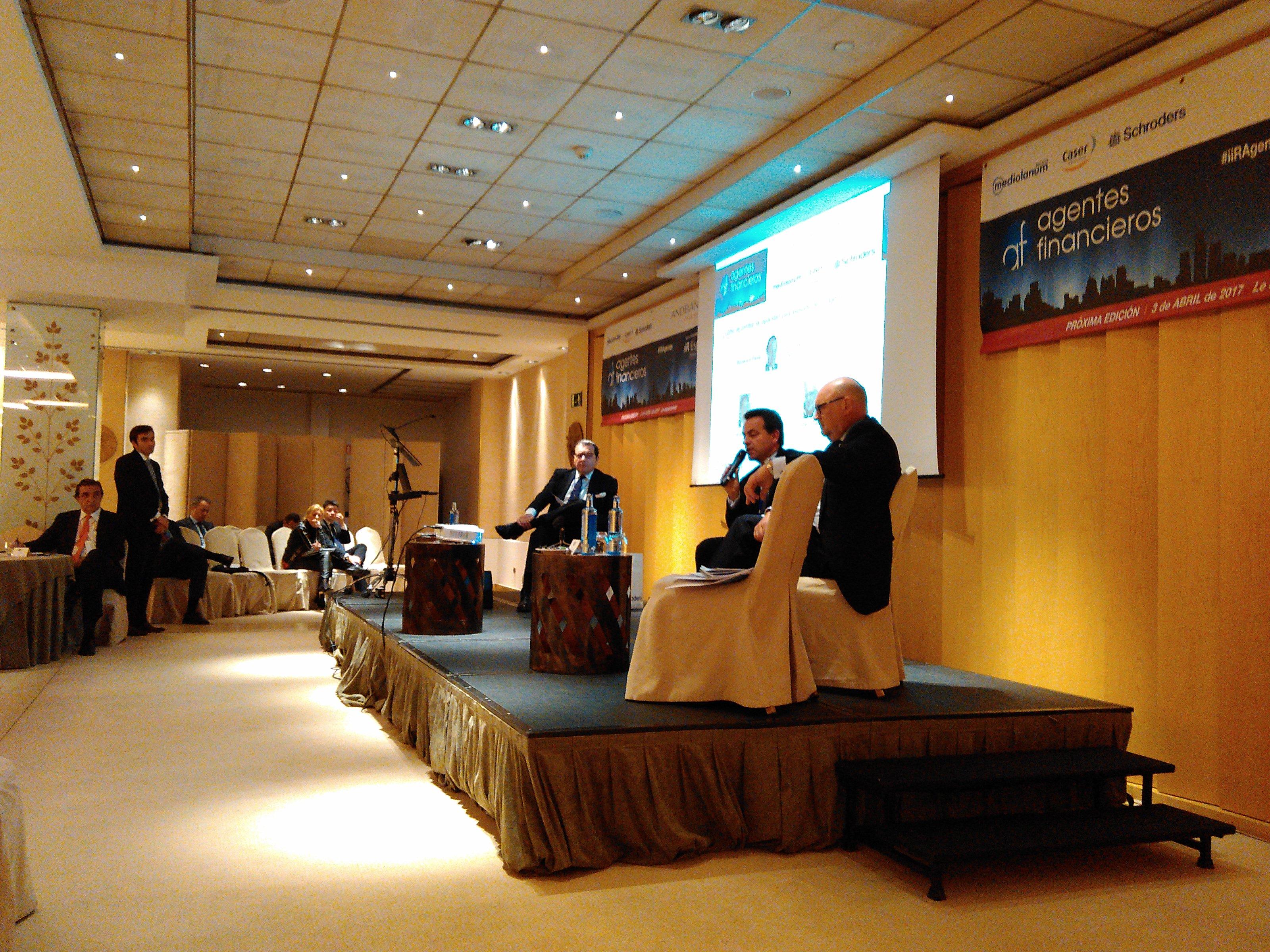 Encuentro con agentes financieros - iiR España