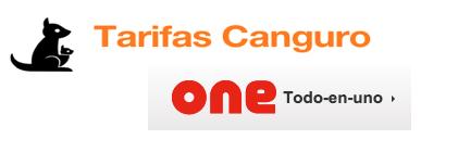 Tarifas Canguro Ahorro vs Tarifas Vodafone One