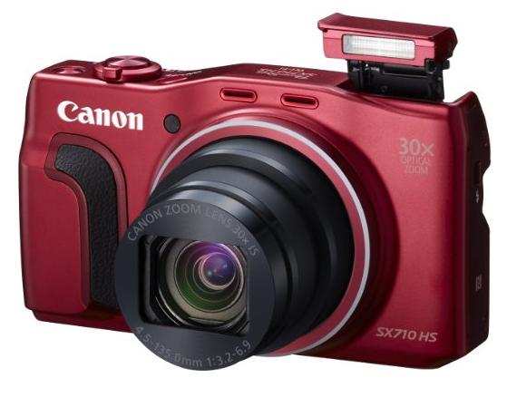 Canon Powershot SX710 HS: mejores cámaras compactas 2016