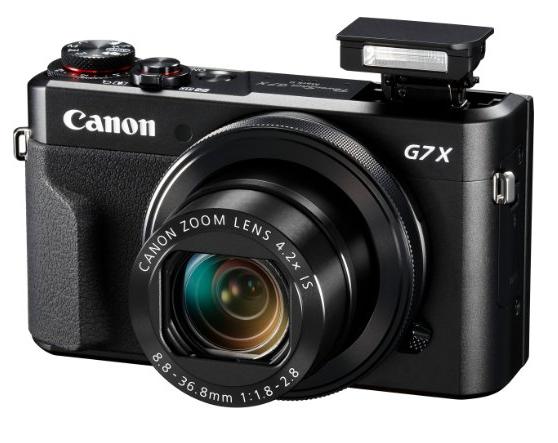 Canon PowerShot G7 X Mark II: mejores cámaras compactas 2016