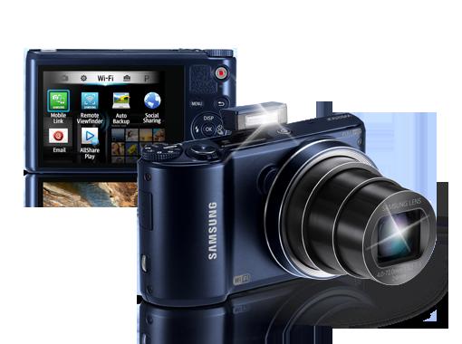 Mejores cámaras compactas con wifi: samsung 250