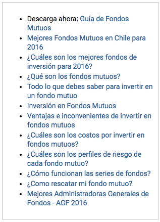 Blog Fondos Mutuos AGF