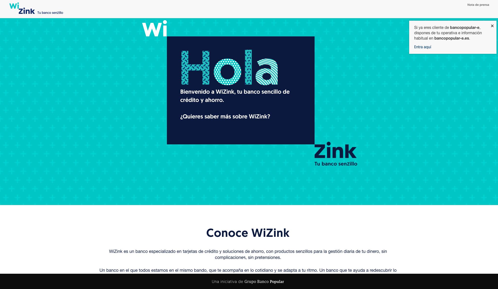 Web wizink