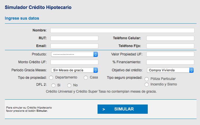 Simulador para credito hipotecario biess biocalmocom for Prestamo hipotecario