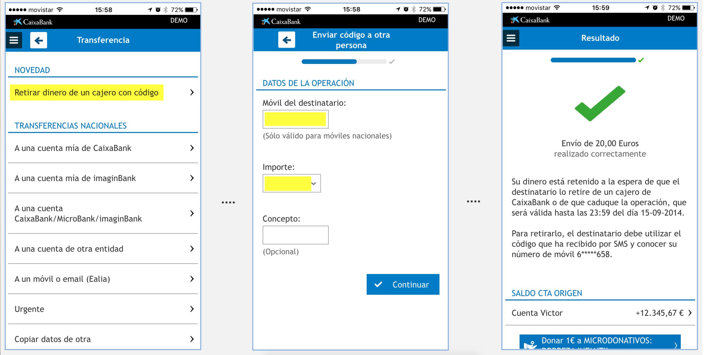 Caixabank permite sacar dinero en los cajeros sin tarjeta c mo hacerlo rankia for Dinero maximo cajero