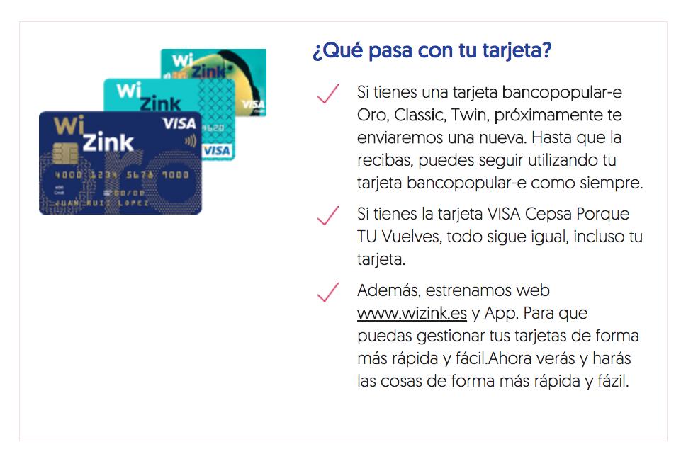 Qué pasa con las tarjetas de bancopopular-e