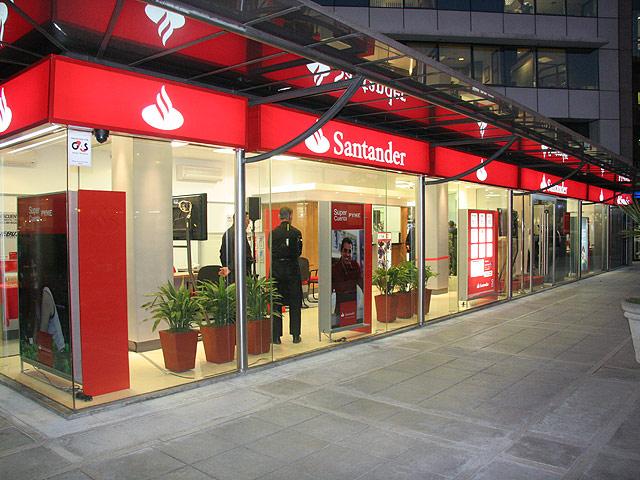 Comparativa bancos: Santander, Scotiabank y BBVA - Sucursales Santander