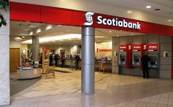 Comparativa bancos: Santander, Scotiabank y BBVA - Sucursales Scotiabank