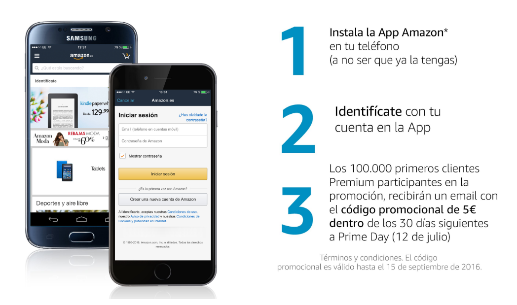 codigo promocional moviles amazon