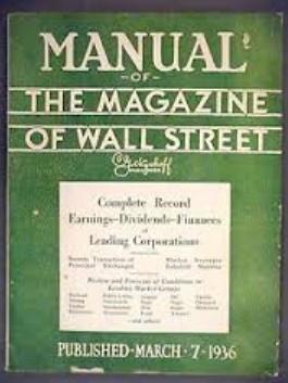 Magazine wall street