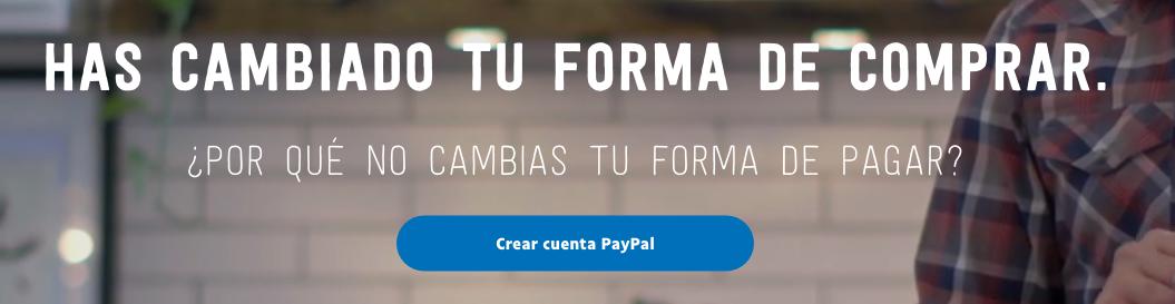 ¿Cómo crear tu cuenta de paypal?