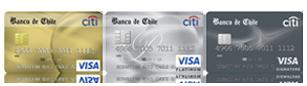 Comparativo bancos: Banco de Chile tarjetas