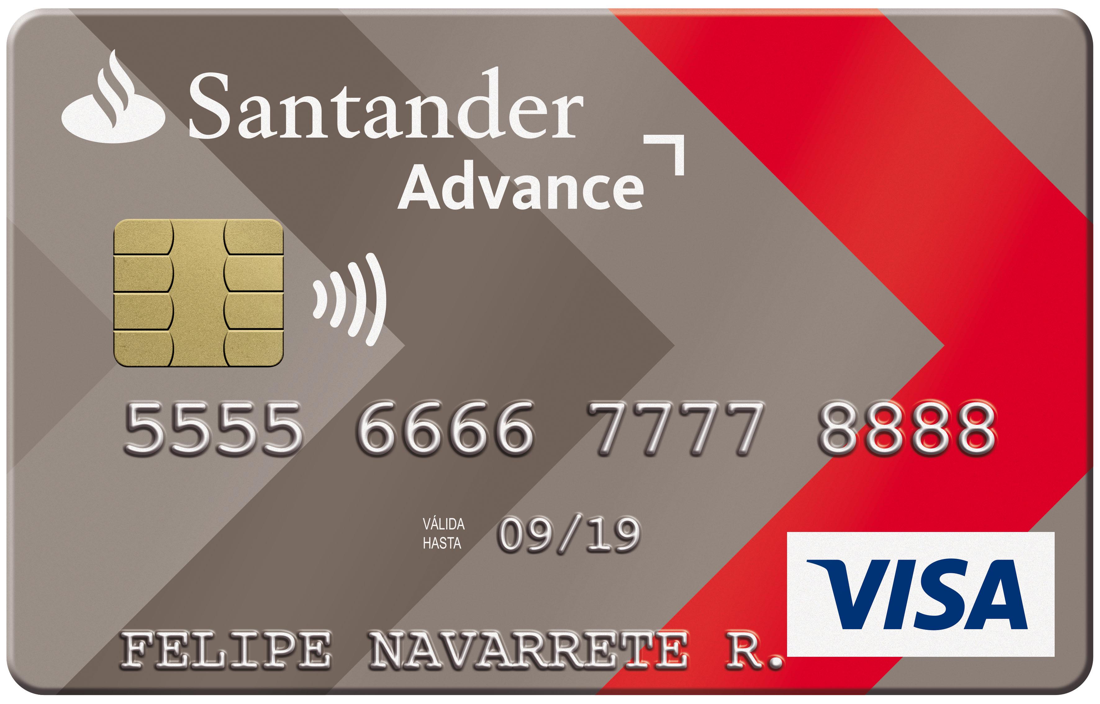 Comparativa bancos: Banco Santander tarjetas