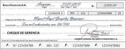 Que es un cheque tipos de cheque foro