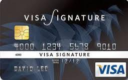 Tarjeta Visa Signature del Banco de Chile