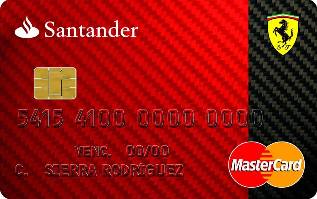 Tarjeta WorldMember Santander Ferrari