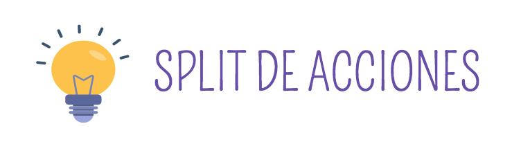 ¿Qué es un split de acciones?