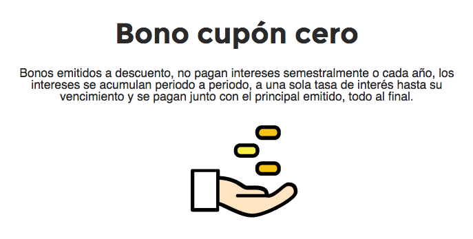 Bono cupón cero