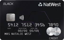 Tarjetas de lujo: NatWest Black MasterCard