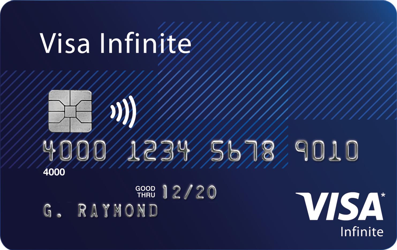 Tarjetas de lujo: Visa Infinite