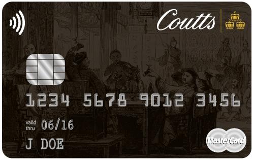 Tarjetas de lujo: Coutts World Silk Card