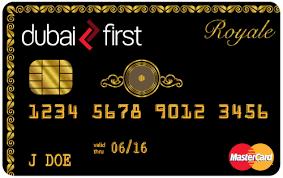 Tarjetas de lujo: Dubai First Royal MasterCard