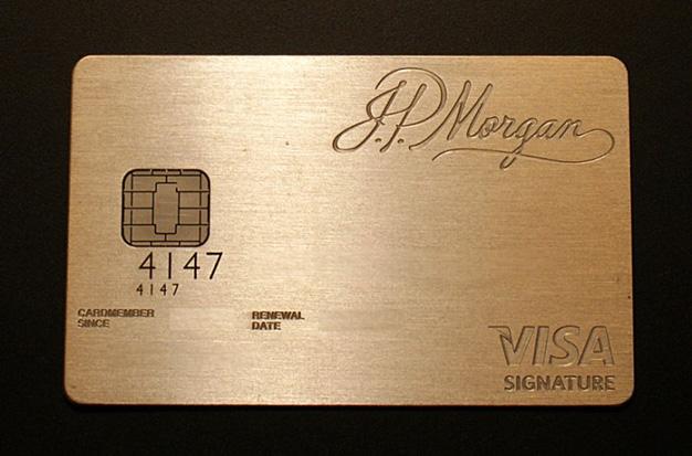 Tarjetas de lujo: JP Morgan Chase Palladium