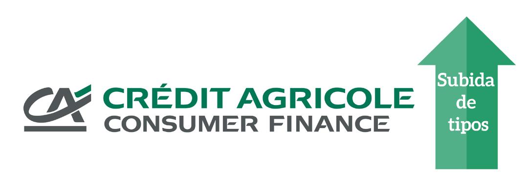 CA Consumer Finance Subida de tipos