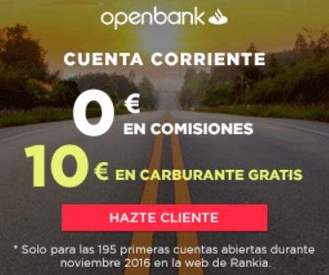 Cuenta corriente operativa openbank foro