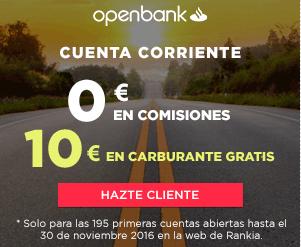 Cheque gasolina openbank foro