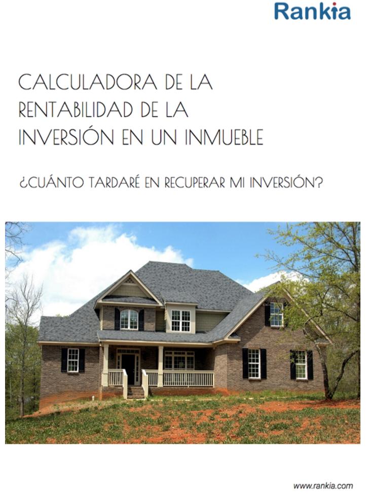 Calculadora rentabilidad inversión en vivienda