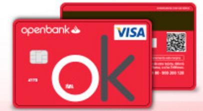 Tarjeta de crédito Visa Open de Openbank